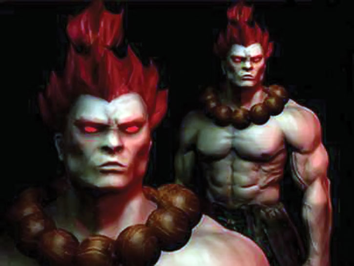 Gouki with his necklace