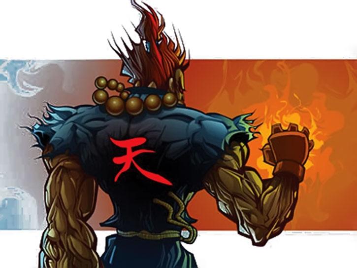 Gouki's back