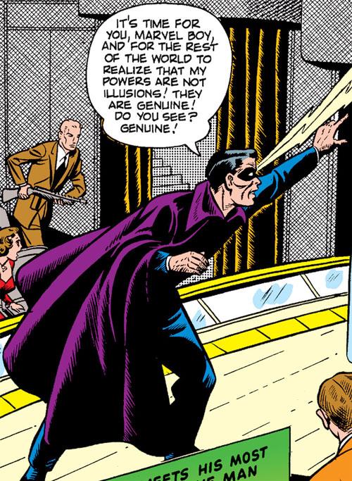 The Great Video (Marvel Boy enemy) (Atlas Comics)