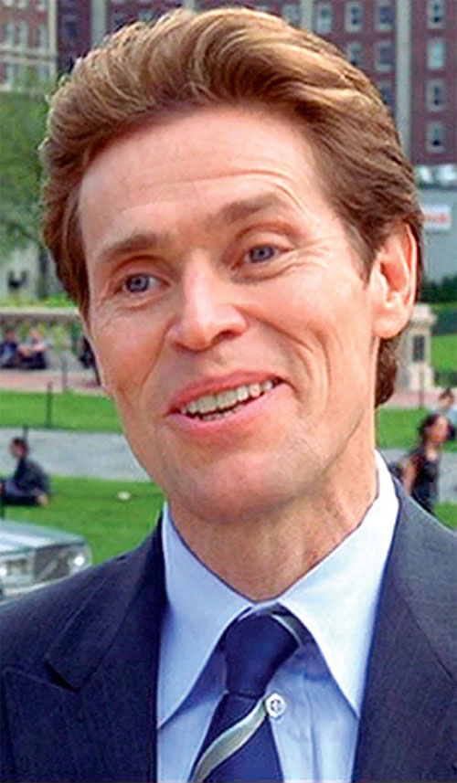 Green Goblin (Willem Dafoe in the Spider-Man movie) closeup