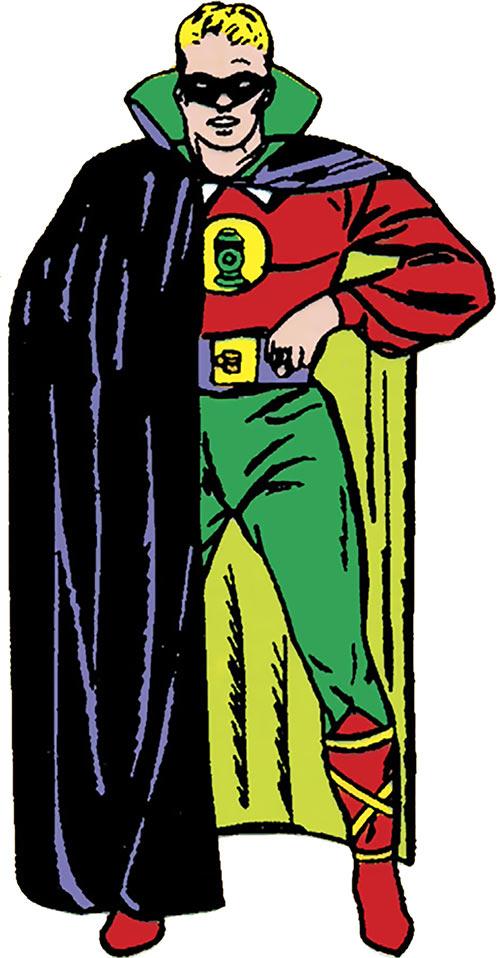 Green Lantern (Alan Scott) (DC Comics) 1940s art