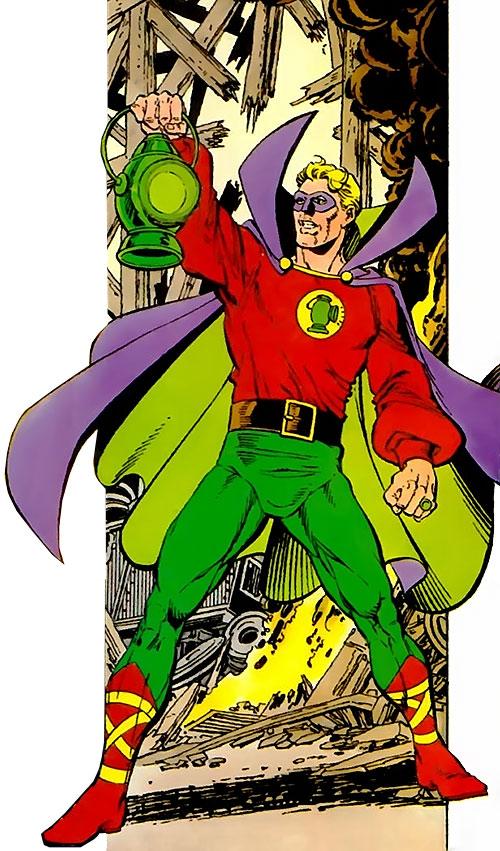Green Lantern (Alan Scott) (DC Comics) by George Perez