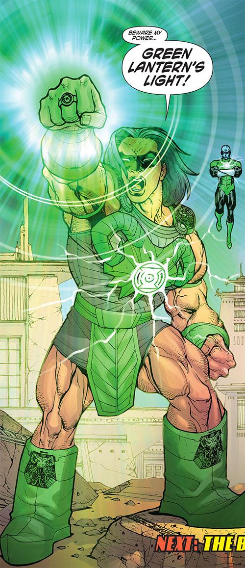 Green Lantern Kho of the Khund (Wonder Woman ally) (DC Comics)