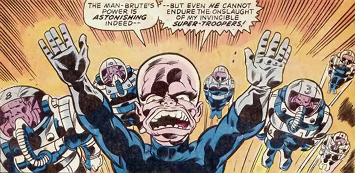 The Gremlin (Kondrati Topolov) and his Super-Troopers