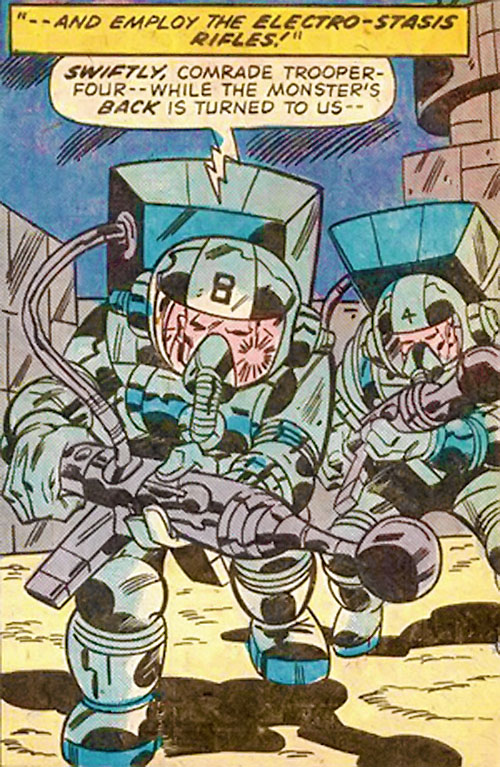 Soviet super-trooper (Hulk enemy) (Marvel Comics)