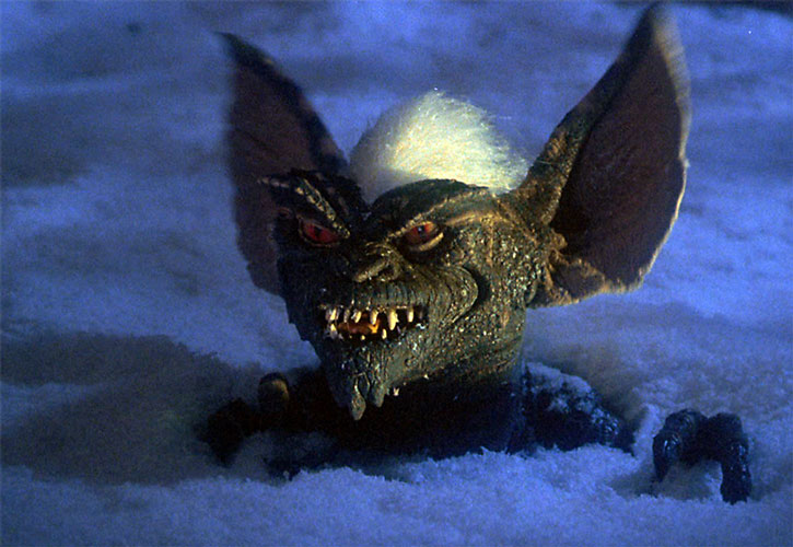 The Gremlin chief in snow