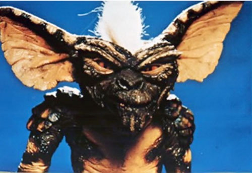 Gremlin (movies) with white hair