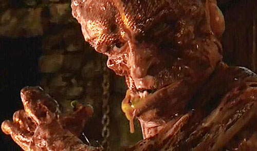 Grendel (2007 Beowulf movie) face closeup, drooling