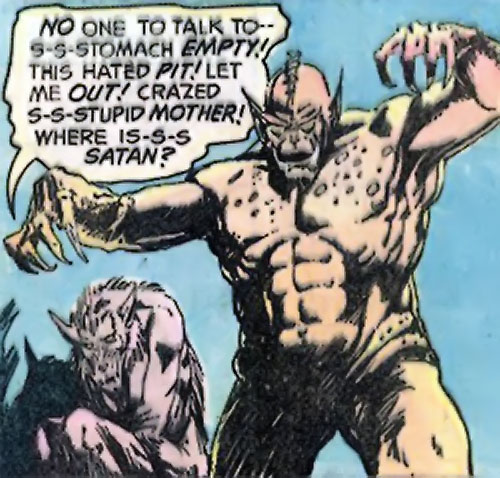 Grendel (Beowulf / Wonder Woman enemy) (DC Comics) and his mother