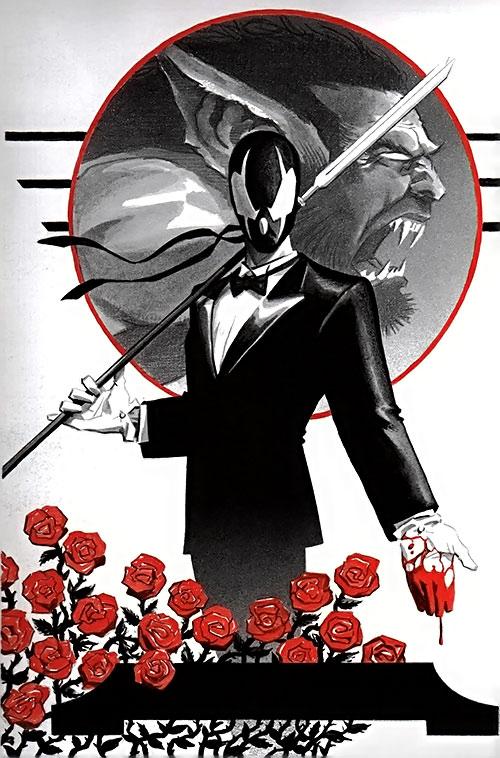 Grendel (Hunter Rose) and Argent