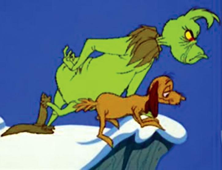 The Grinch  1966 movie  Boris Karloff  Dr Seuss  Character