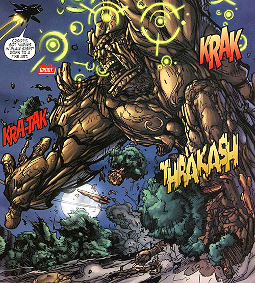 Groot (Marvel Comics) in his Howling Commandos appearance