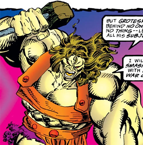 Grotesk (Marvel Comics) during his Thor appearance