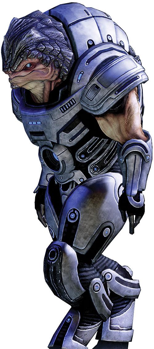 Grunt (Mass Effect 2) high resolution side view