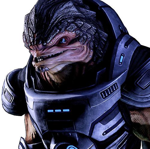 Grunt (Mass Effect 2) talking