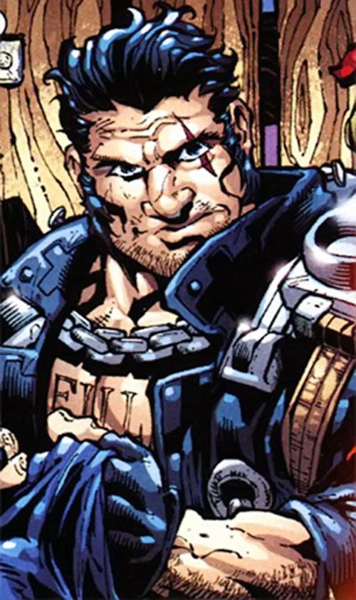Gunmetal Gray (Ghost Rider enemy) (Marvel Comics) portrait