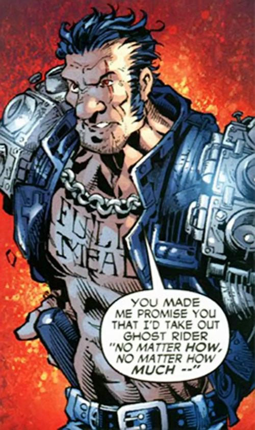 Gunmetal Gray (Ghost Rider enemy) (Marvel Comics)