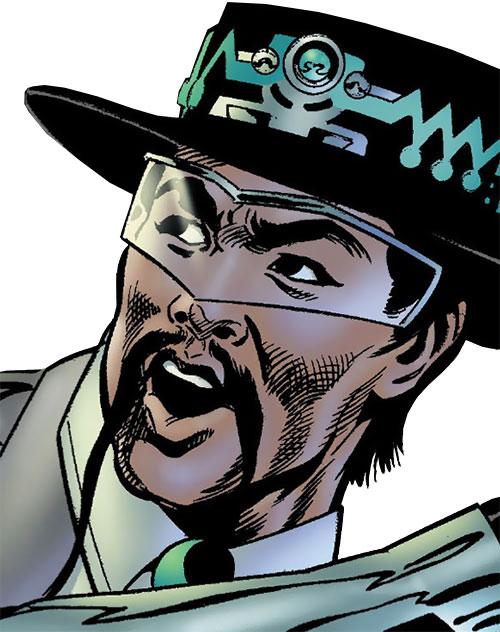 Gunslinger (Astro City comics) face closeup