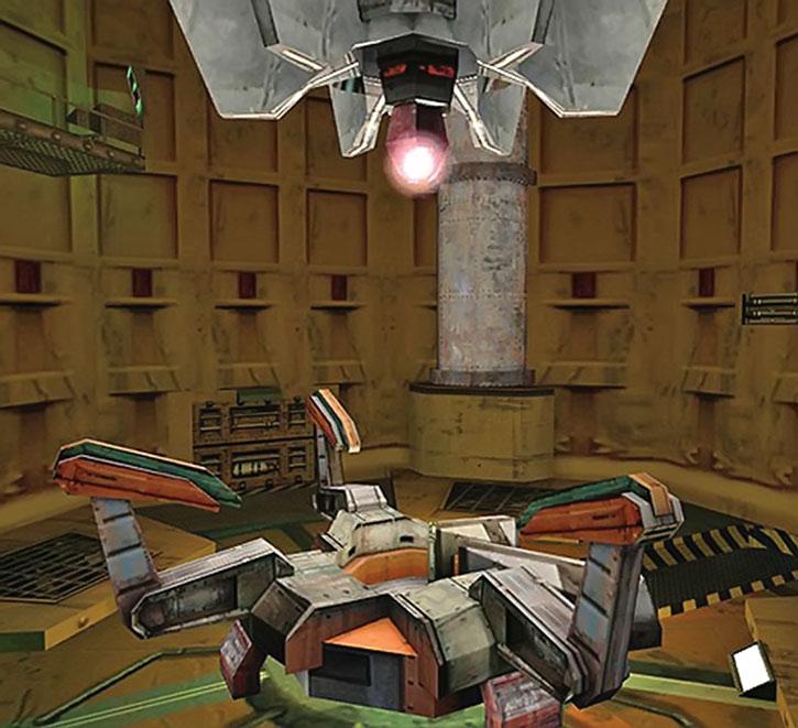 Large experimental equipment at Black Mesa