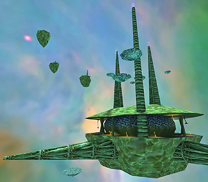 Floating structures on Xen