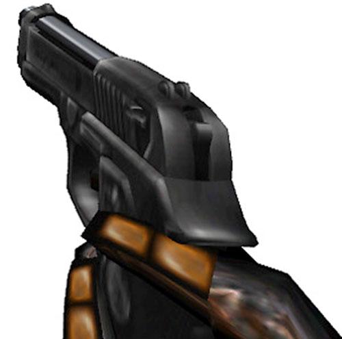 Half-Life video game pistol