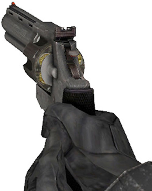 Half-Life video game revolver