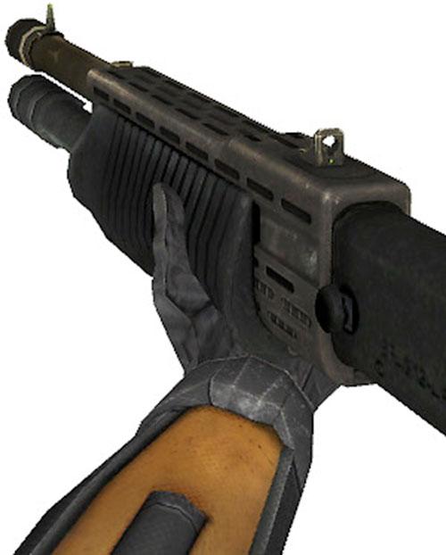 Half-Life video game shotgun