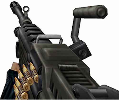 Half-Life video game machinegun
