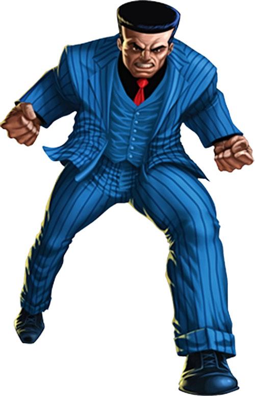 Hammerhead (Marvel Comics) (Spider-Man enemy) running