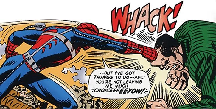 Hammerhead vs. Spider-Man