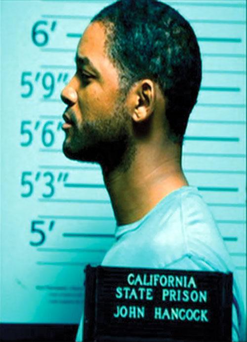 Hancock (Will Smith) prison photo 2/2