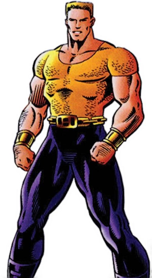 Hardcase (Malibu Ultraverse comics) in his Squad costume