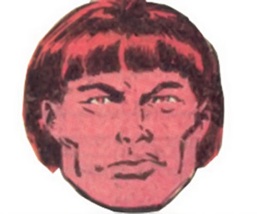 Harpoon of the Marauders (X-Men enemy) (Marvel Comics) face closeup