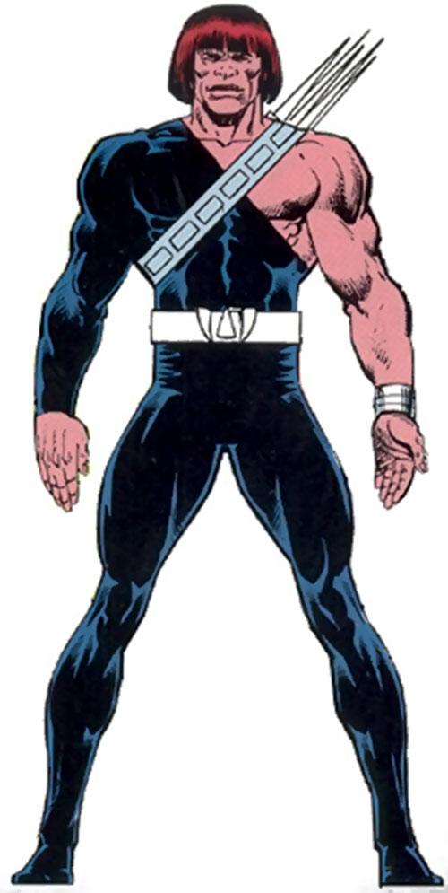 Harpoon of the Marauders (X-Men enemy) (Marvel Comics)