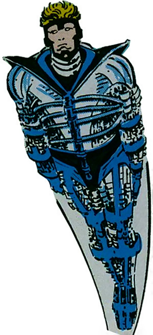 Harrier of the Supremacists (Black Panther enemy) (Marvel Comics) in flight