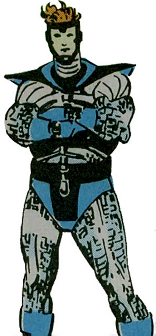 Harrier of the Supremacists (Black Panther enemy) (Marvel Comics)