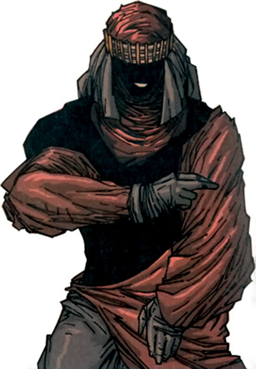 Hassan i Sabbah (Stormwatch Team Achilles enemy) (Wildstorm comics)