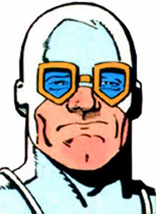 Heat Wave (Flash enemy) (DC Comics) face closeup