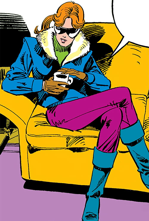 Heather Hudson (Alpha Flight) (Marvel Comics) with hater blockers