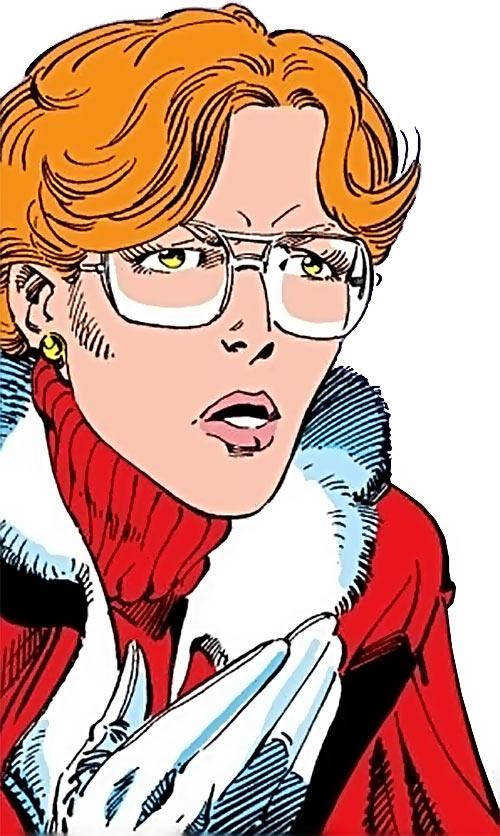 Heather Hudson (Alpha Flight) (Marvel Comics) is very serious