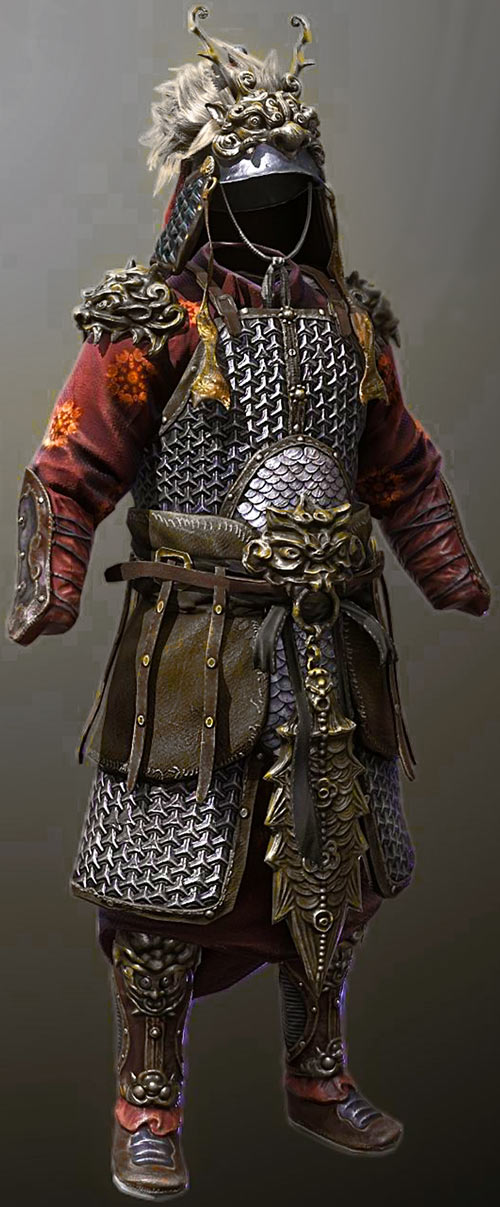 Heavy low-tech armour in RPGs guide - Chinese mountain scale armour