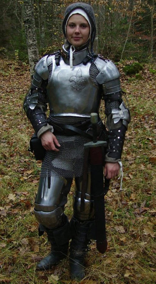 Heavy low-tech armour in RPGs guide - Plate mail - 1400s