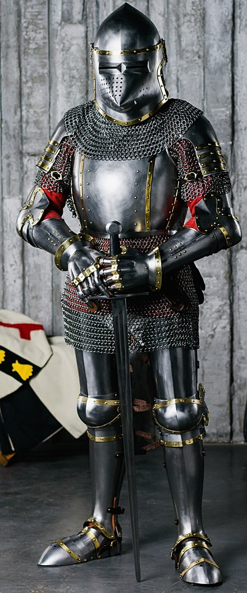 Heavy low-tech armour in RPGs guide - Plate mail - Steel mastery
