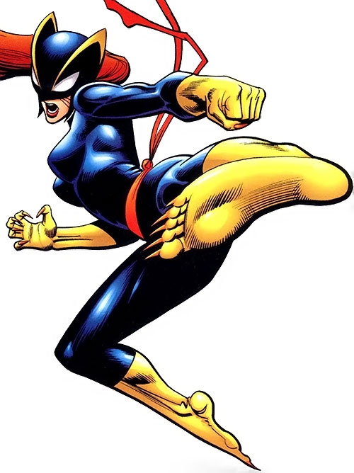 Hellcat (Patsy Walker) (Marvel Comics) in the black costume