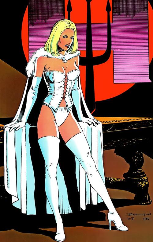 Hellfire Club (Marvel Comics) (Sebastian Shaw 2) - White Queen Emma Frost