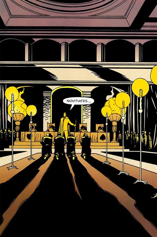 Hellfire Club (Marvel Comics) (Sebastian Shaw 2) - Ceremony