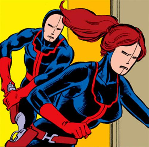 Hellfire Club (Marvel Comics) (Sebastian Shaw 2) - Male and female mercenaries