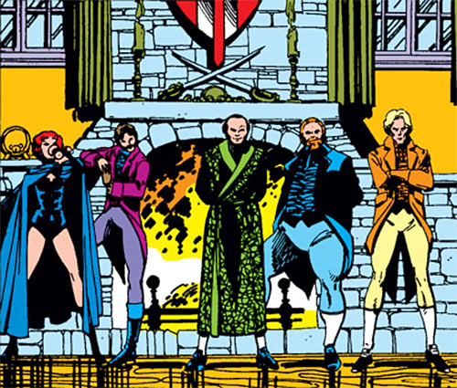 Hellfire Club (Marvel Comics) (Sebastian Shaw 2) - Inner Circle