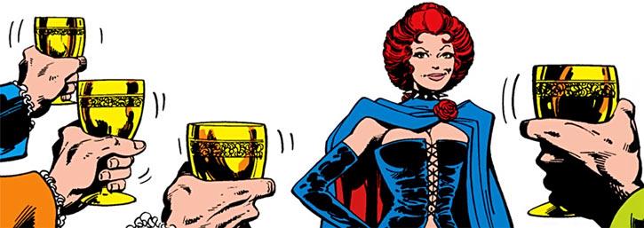 Hellfire Club (Marvel Comics) (Sebastian Shaw 2) - Black Queen Jean Grey