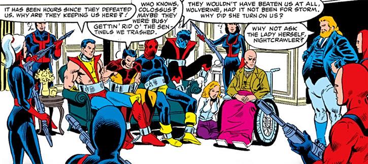 Hellfire Club (Marvel Comics) (Sebastian Shaw 2) - Captive X-Men